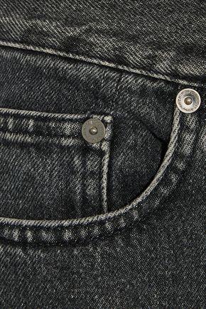 ACNE STUDIOS Boy faded mid-rise straight-leg jeans