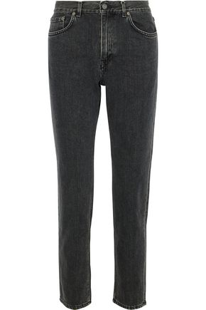 ACNE STUDIOS Boy faded mid-rise straight-leg jeans