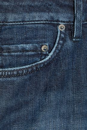 ACNE STUDIOS Skin 5 faded low-rise skinny jeans