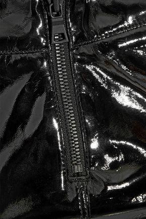 RTA Gypsy vinyl-paneled high-rise skinny jeans