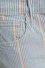 3x1 Striped denim bootcut pants