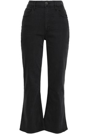 3x1 High-rise cropped bootcut jeans
