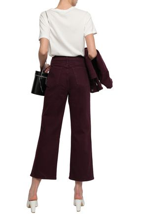 3x1 Shelter cropped wide-leg jeans