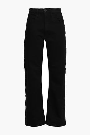 3x1 Snap Away high-rise flared jeans