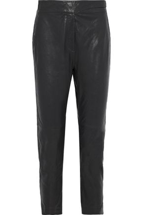 RAG & BONE Mila leather tapered pants