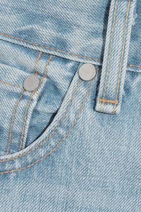 RAG & BONE Haru cropped high-rise wide-leg jeans