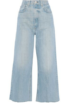 RAG & BONE Haru cropped high-rise wide-leg jeans