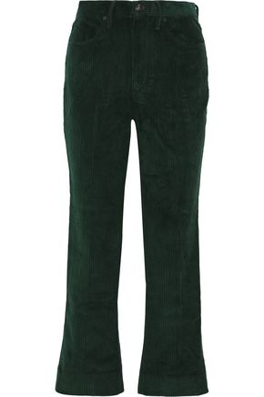 RAG & BONE Cotton-corduroy straight-leg pants
