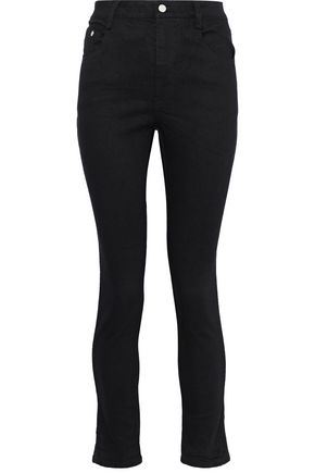 BRANDON MAXWELL Faded high-rise skinny jeans