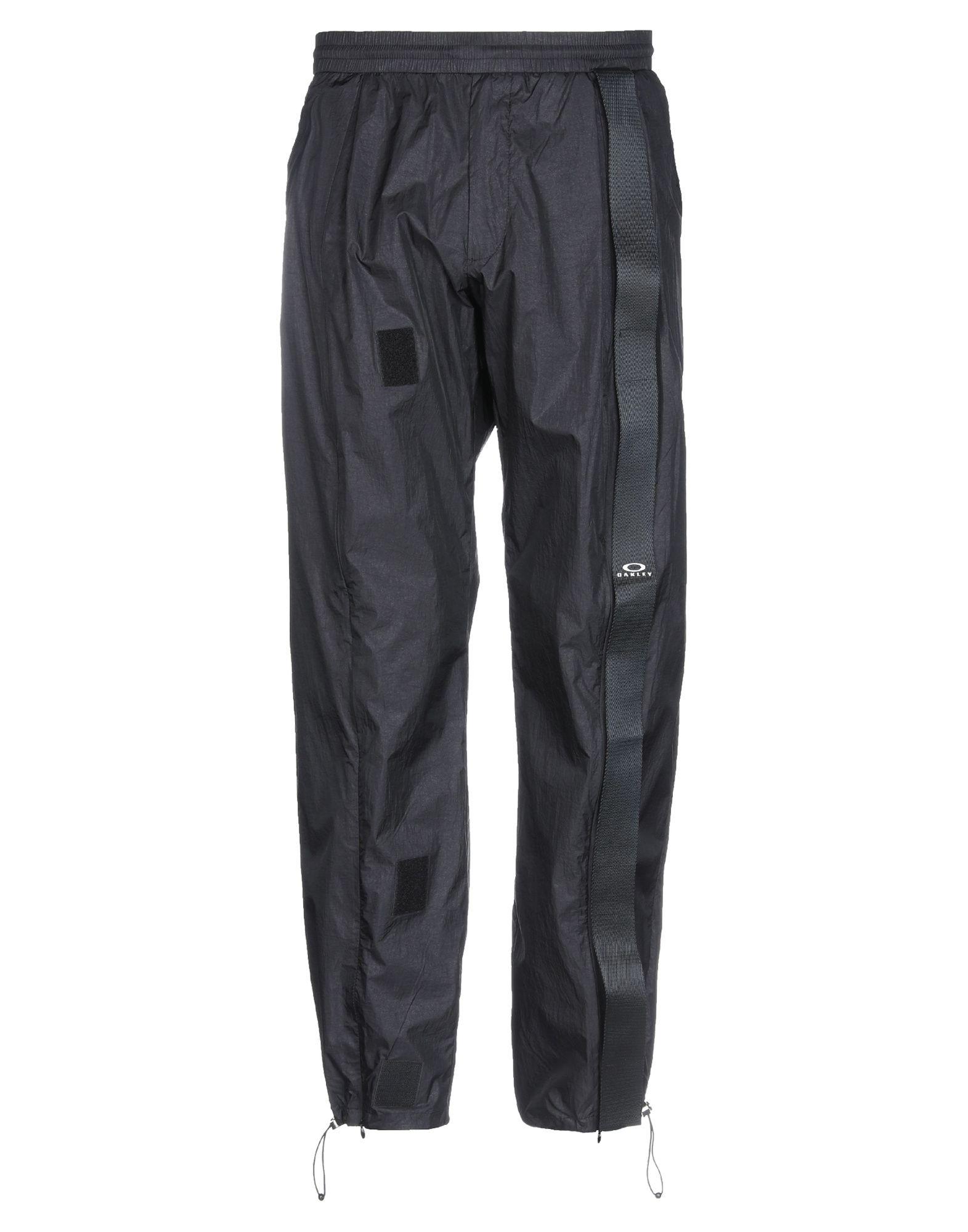 《期間限定セール中》OAKLEY メンズ パンツ ブラック S ナイロン 100%