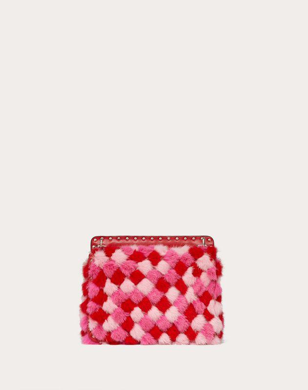 Medium Rockstud Spike.It Multicoloured Mink Bag