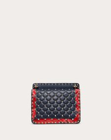 Medium Rockstud Spike.It Bag with Heart