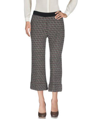 Фото 2 - Повседневные брюки от SIYU коричневого цвета
