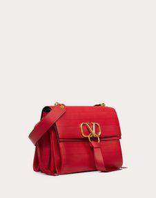 VRING Shoulder Bag with Multi-Stripe Design
