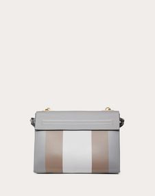 VRING Shoulder Bag in Smooth Calfskin with Multicoloured Inlay