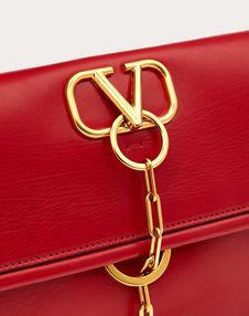 VCHAIN Smooth Calfskin Crossbody Bag