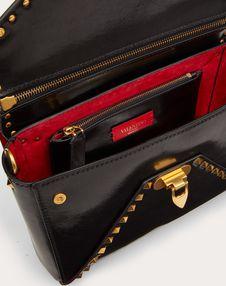 Rockstud Hype Smooth Calfskin Shoulder Bag