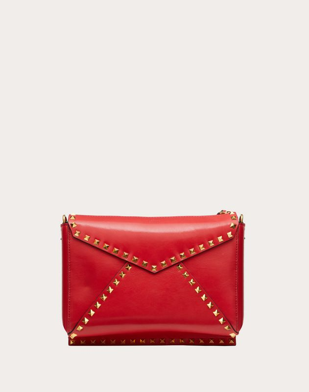 Rockstud Hype Smooth Calfskin Shoulder Bag