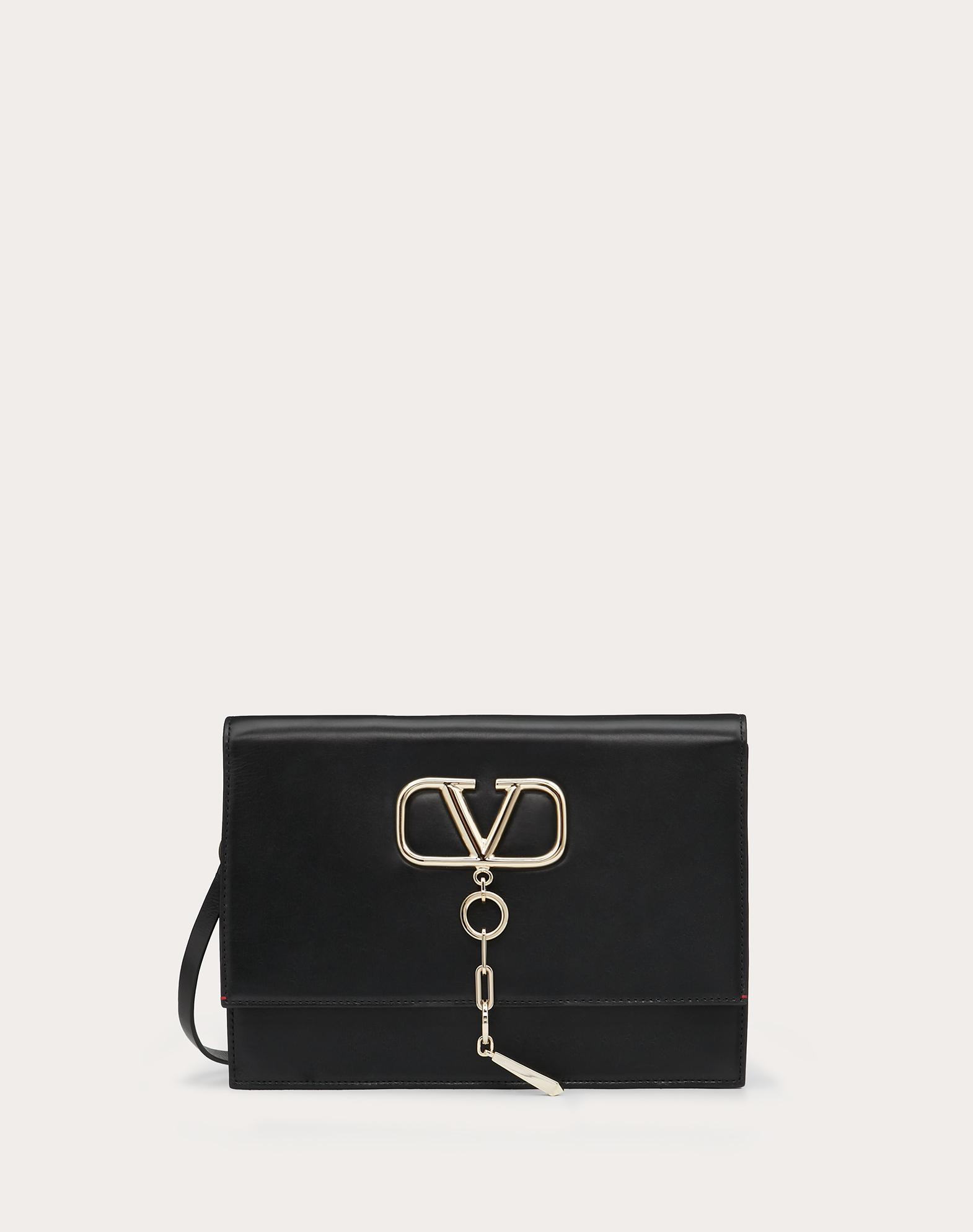 VCASE Smooth Calfskin Crossbody Bag