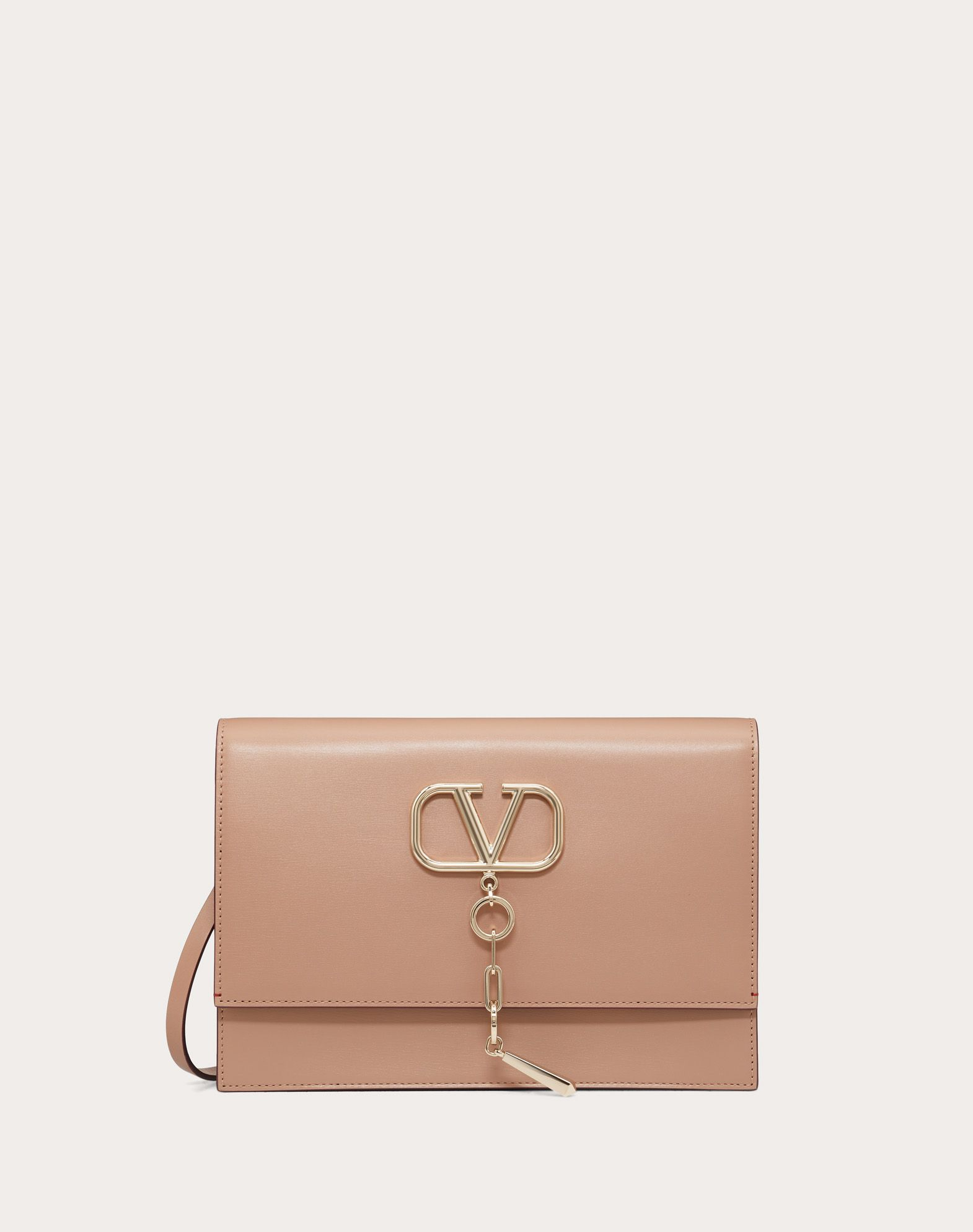 VCASE Smooth Calfskin Crossbody Bag