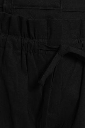 A.L.C. Linen-blend twill culottes