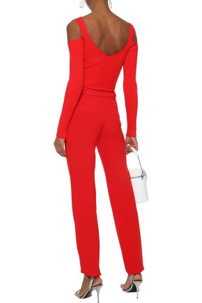 MUGLER Cady straight-leg pants