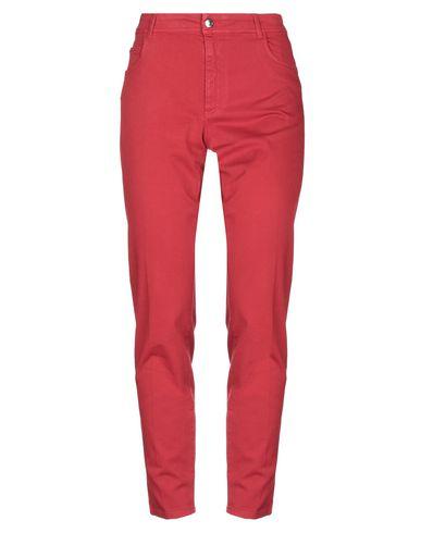 Купить Повседневные брюки от BLUE LES COPAINS красного цвета
