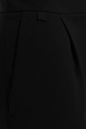 VINCE. Pleated crepe culottes