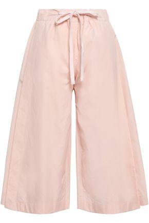 VINCE. Cotton-poplin culottes