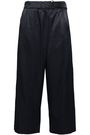 VINCE. Cropped satin flared pants
