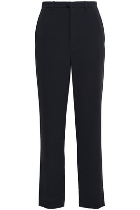 VINCE. Crepe straight-leg pants