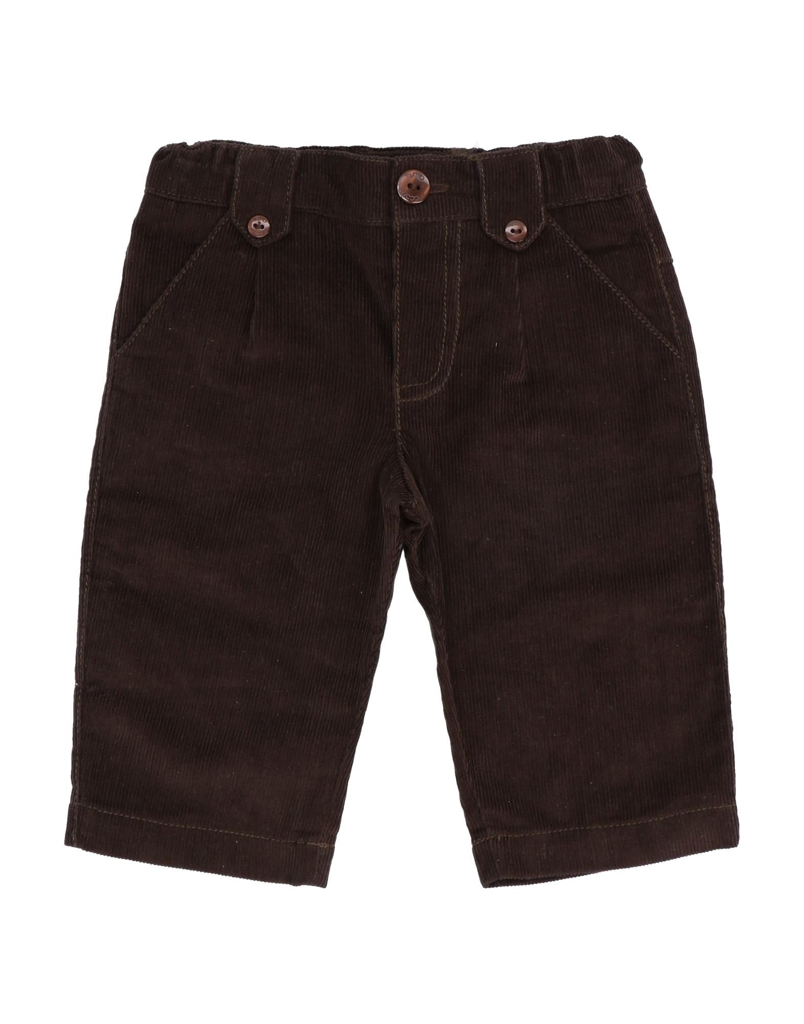 Tutto Piccolo Kids' Casual Pants In Brown