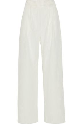 MICHAEL LO SORDO Cotton-corduroy wide-leg pants