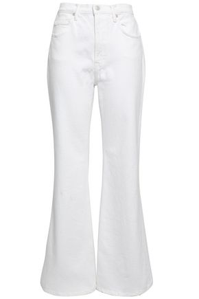 VINCE. High-rise flared jeans