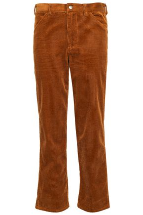 ANTIK BATIK Papy cropped cotton-corduroy straight-leg pants