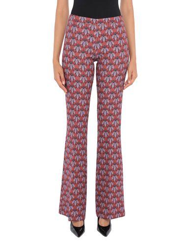 Купить Повседневные брюки от MAESTA ржаво-коричневого цвета
