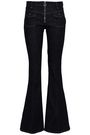 VICTORIA, VICTORIA BECKHAM Mid-rise flared jeans