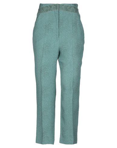 Фото - Повседневные брюки от MARCO DE VINCENZO светло-зеленого цвета
