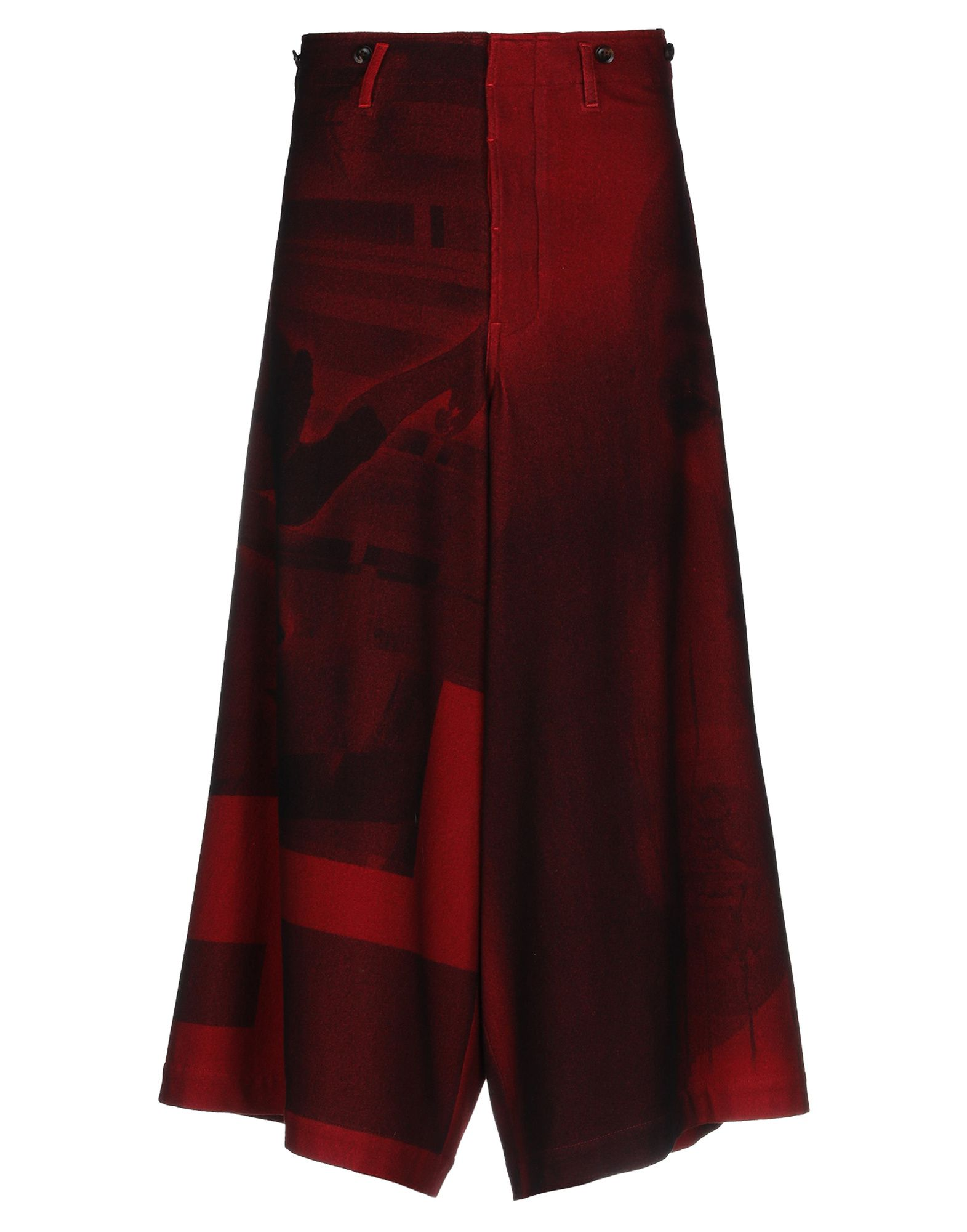 цена YOHJI YAMAMOTO JEANS POUR HOMME Повседневные брюки онлайн в 2017 году