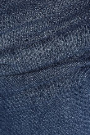 J BRAND Maude faded mid-rise slim-leg jeans