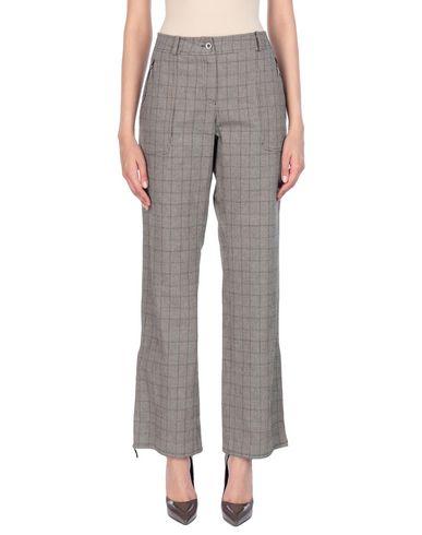 Фото - Повседневные брюки от ELEKTA темно-коричневого цвета