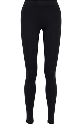 VINCE. Stretch-jersey leggings