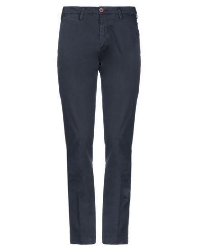 Купить Повседневные брюки от J.W. KENNEDY темно-синего цвета