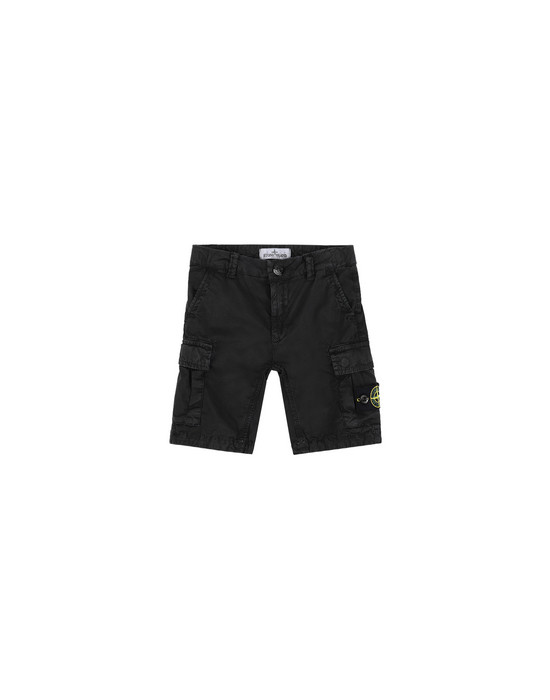 Bermuda shorts L0909 'OLD' DYE TREATMENT  STONE ISLAND JUNIOR - 0