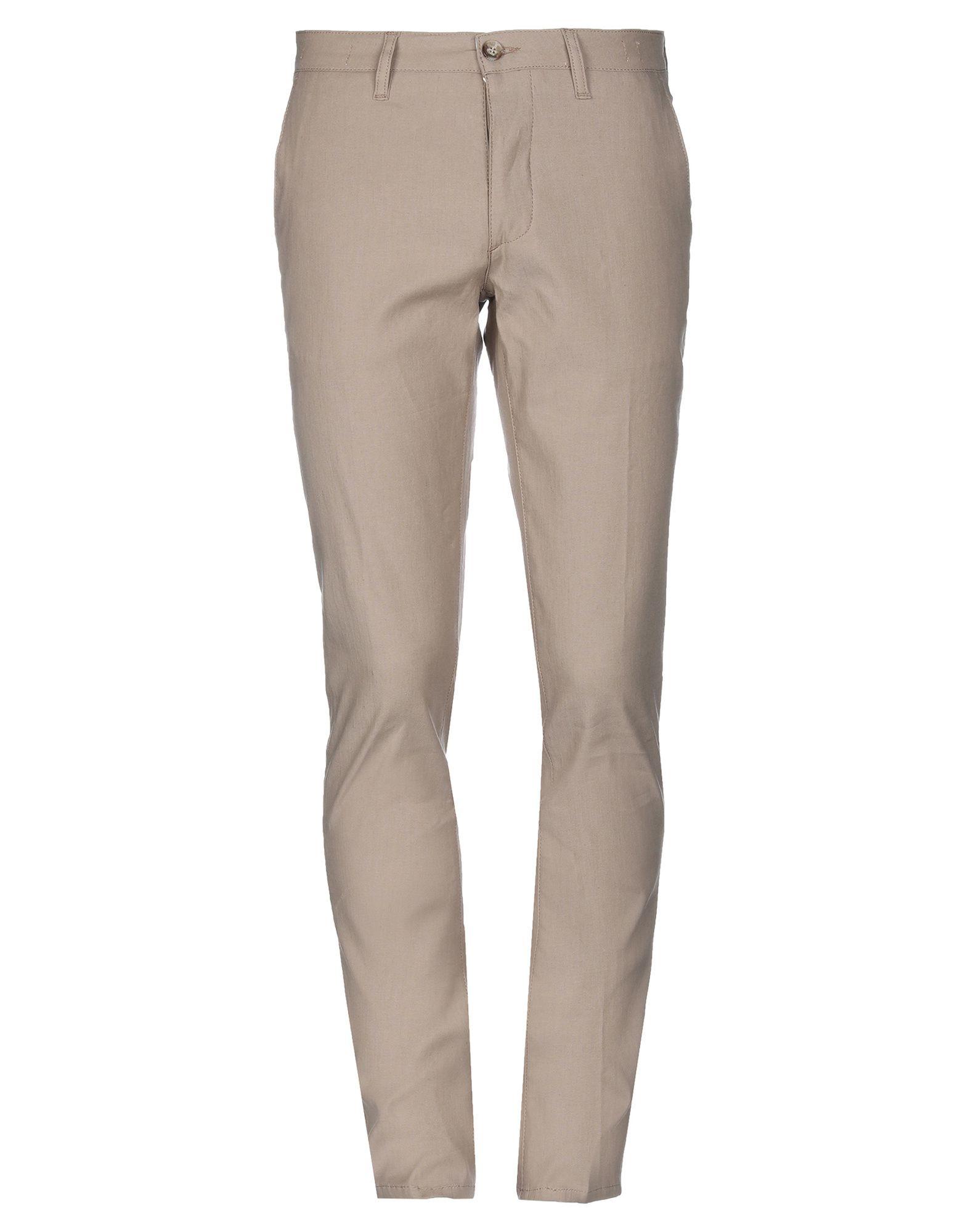 《期間限定セール中》CRUNA メンズ パンツ サンド 48 コットン