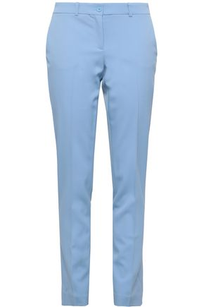 MICHAEL KORS COLLECTION Wool-blend twill slim-leg pants