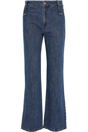 ca34f2bb84d SEE BY CHLOÉ High-rise flared jeans