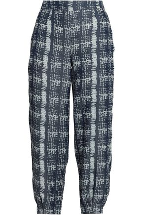 AMANDA WAKELEY Jacquard tapered pants
