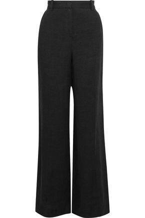 WEEKEND MAX MARA Delfi linen wide-leg pants