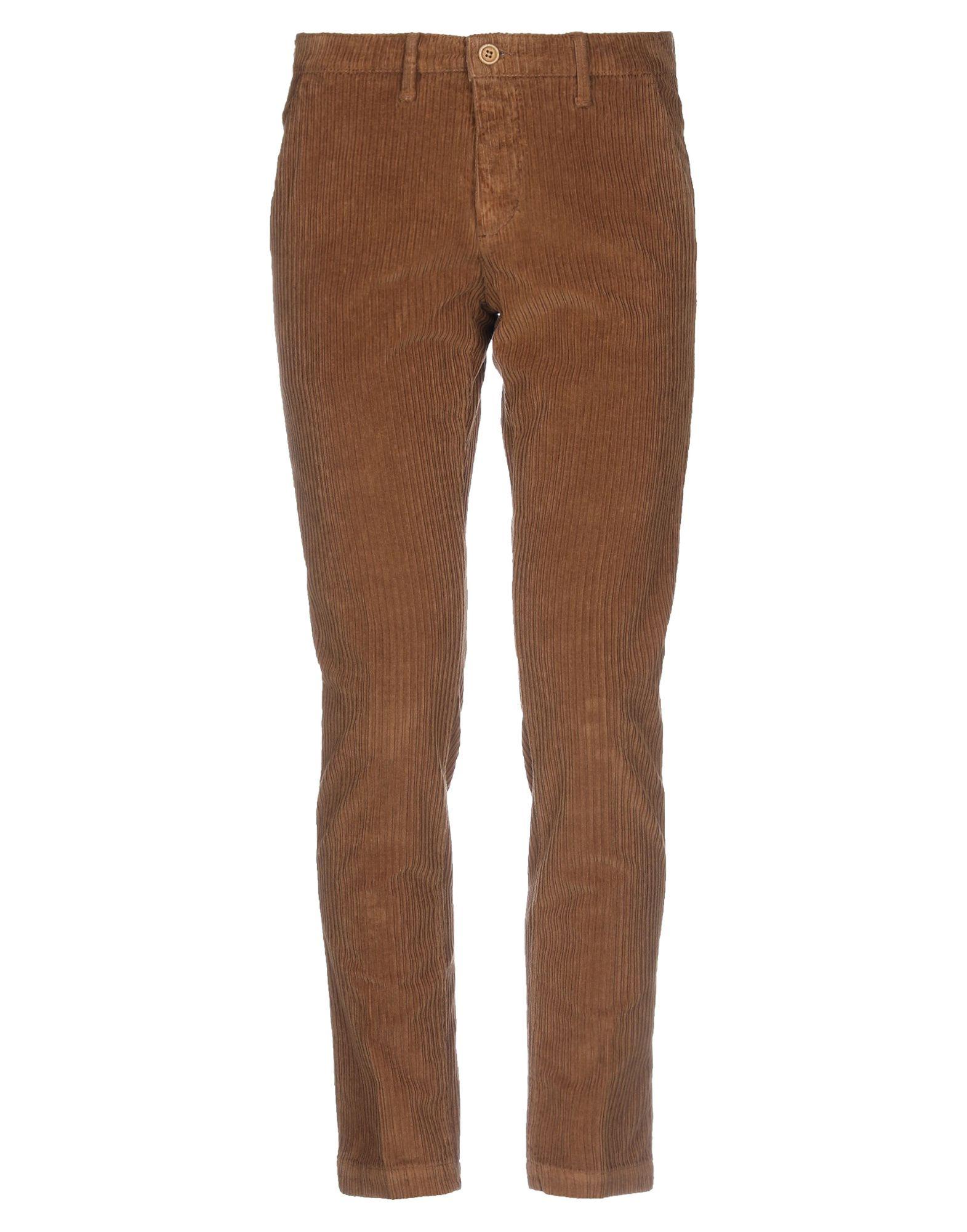 《セール開催中》PAUL MIRANDA メンズ パンツ ブラウン 46 コットン 97% / ポリウレタン 3%